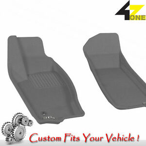 3d Fits 2005 2010 Jeep Grand Cherokee G3ac05498 Gray Waterproof Front Car Parts