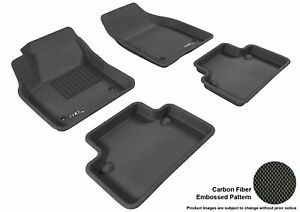3d Fits 2004 2011 Volvo S40 G3ac22884 Black Waterproof Front And Rear Car Parts
