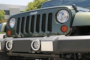 Ship From Usa Fits 2007 2013 Jeep Wrangler Gxtb90053 Durable Grille Insert After