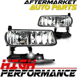 For 2001 Chevrolet Silverado 1500 Hd Oe Replacement Fog Light Clear