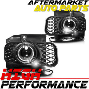 For 2001 Ford F 150 Halo Projector Headlight Clear