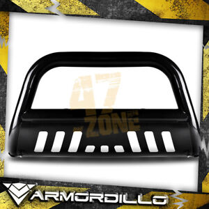 For 2013 Honda Pilot Black 3 Bull Bar Bull Guard W Skid Plate