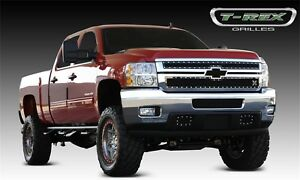 For 2012 Chevrolet Silverado 2500 Hd T Rex Grille Djtm