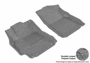 3d Anti Skid Front Fits Camry 2012 2014 Gtca39011 Gray Carpet Auto Parts Perform