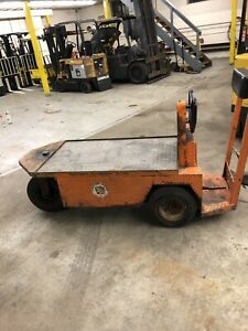 Taylor Dunn 1159sc 24v Stock Chaser Large Flatbed Electric Utility Cart