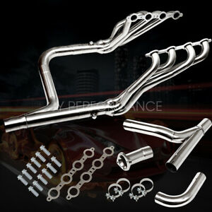 Fit 99 06 Chevy gmc Gmt800 Silverado sierra 1500 Exhaust Manifold Header y pipe