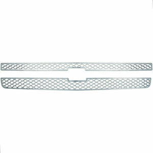 Grille Insert For 2007 2013 Chevy Silverado 1500 Lt Ltz Ls Chrome