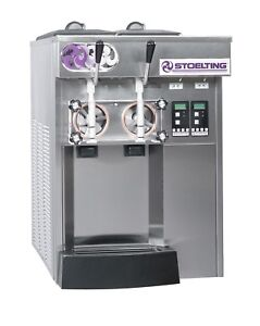 Frozen Yogurt Machine Stoelting Countemodel E131 Model 208 230 60 1 Air Cooled