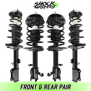 Front Rear Quick Complete Struts Coil Springs For 1993 2002 Toyota Corolla