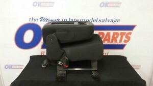 09 Chevy Silverado 1500 Center Console Jump Seat Black Cloth