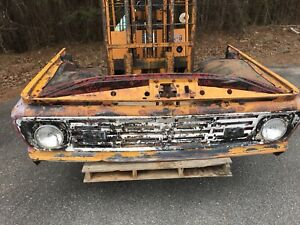 1964 64 Ford Truck Front Clip With Fenders Grill