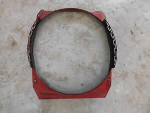 International Farmall 806 856 Diesel Fan Shroud Antique Tractor