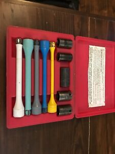 Matco 10 Piece 1 2 Torque Extension And Impact Sockets Set