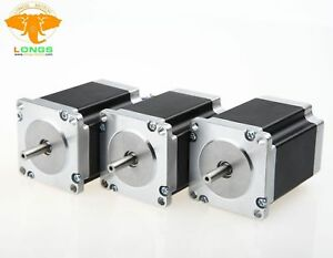 Us Free stepper Motor 3pcs Nema23 270 Oz in 3 0a 23hs8430 57bygh Cnc Mill Cut