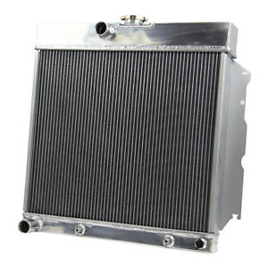 4 Row Aluminum Radiator For 63 69 Dodge Dart Plymouth Valiant 4 5 273 v8 1966