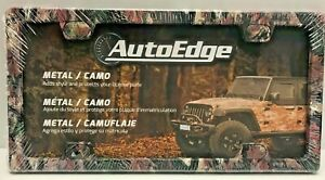 New Camo Heavy Duty Metal License Plate Frame Same Day Shipping On Orders By 2pm