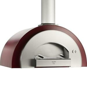Alfa Quick 47 inch Outdoor Countertop Wood fired Pizza Oven