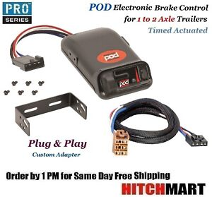 Pod Trailer Brake Controller W Adapter For 2015 2017 Tundra 2016 2019 Tacoma