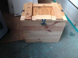 Wooden Shipping Packing Crate Crates 24x22 3 4x17 Set Of 6