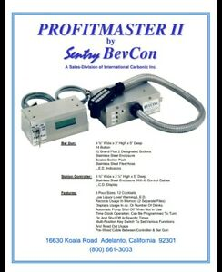 Profitmaster Ii 6 Brand Station Kit 6 Selection Bar Soda Gun And Control Unit