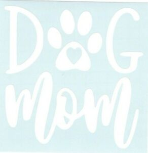 Dog Mom Funny Car Truck Suv Animal Vinyl Sticker Decal
