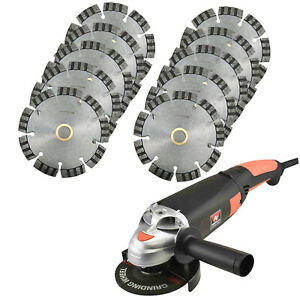 4 5 Segmented Turbo Saw Blade For General Purpose W 5 Electric Angle Grinder
