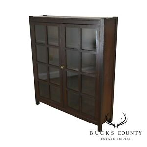 Lifetime Mission Oak Antique 2 Door Bookcase