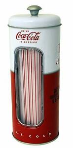 Retro Coca Cola Holder Kitchen Party Storage Organised Cute Decor Classic Design