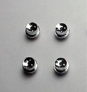 T jet 4 Hot Rod Chrome Hubs set Of 4 Hubs No Tires New Reproduction