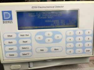 Dionex Ed50 Hplc Chromatography Electrochemica