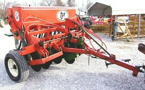 Nice Agco Tye 7 Ft No Till Seed Drill can Ship 1 85 Loaded Mile