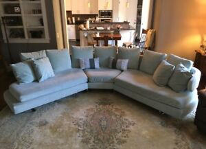 Vintage Mid Century Modern B B Italia Arnie Style Sectional Couch Free Sh Curved