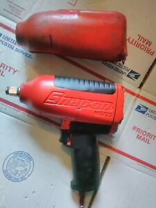 Snap on Mg725 1 2 Heavy Duty Air Impact Wrench With Protective Boot
