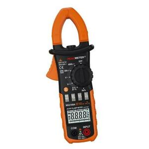 Ac dc Amps Digital Clamp Meter Current Capacitance Volt Amp Ohm Tester With Case