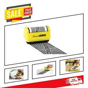 Anti Theft Roller Stamp Identity Privacy Data Id Protection 1 5 Inches Wide
