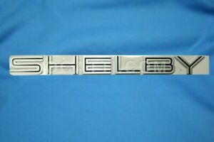 Mustang Shelby Black Emblem Brand New Oem Trunk Deck Ford Mustang 2007 2009