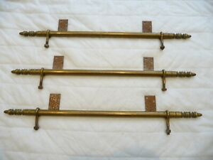 Antique Church Brass Wall Hangings Brackets Hym Number Notice Board Paintings