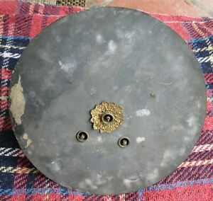 Antique Clock Movement And Dial 8 Day Outside C W Possibly French 19c