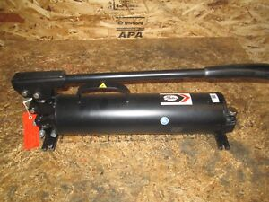 New Gates 77821 power Team spx P159 Two Stage Hydraulic Hand Pump 10 000 Psi