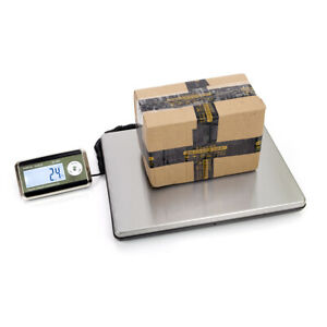 150kg High Quality Digital Postal Scale Silver Black With Outside Calibration
