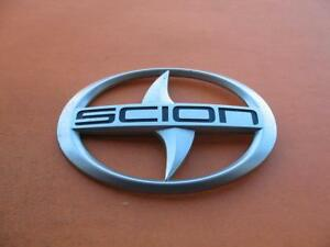 11 12 13 14 15 16 Scion Tc Rear Trunk Lid Center Emblem Logo Badge Sign Oem 4