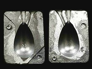 SINKER MOULDS  ALLOY BOMB LEAD SINKER MOLD 24 oz MAKE YOUR OWN LEAD WEIGHTS $45.09