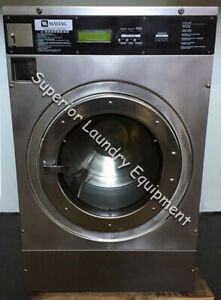Maytag Mfr80pd Washer extractor 80lb Coin 220v Reconditioned