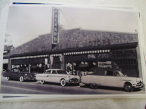 1954 Packard Dealer Cars Out Front 11 X 17 Photo Picture