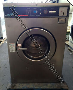 Speed Queen Sc60md2 Washer extractor 60lb Coin 220v 3ph Reconditioned
