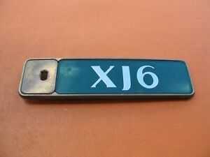 1996 Jaguar Xj Xj6 Rear Lid Green Emblem Logo Badge Sign Symbol Oem 95 96 97 2