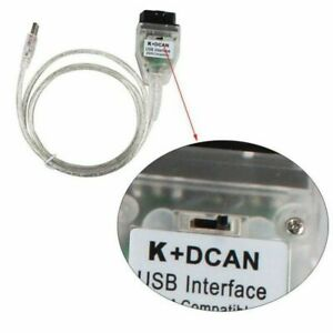 Car Diagnostic Tool Cables For Bmw Inpa K Dcan Usb Obd2 Interface With Switch