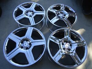 2008 2011 4 Factory Amg Mercedes S Class Staggered Wheels Rims 19x8 5 19x9 5