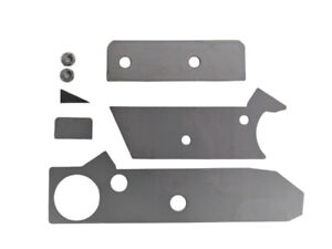 87 95 Jeep Wrangler Yj Front Frame Drivers Side Rust Repair Kit Free Shipping