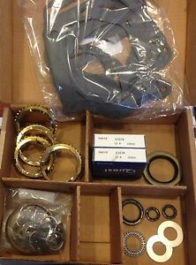 Bk118ws Bearing Kit Fits Super T10 4 speed Transmission 1974 82 W synchros T 10